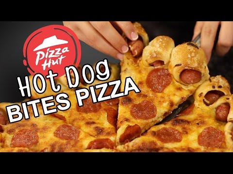DIY Hot Dog Crust Pizza