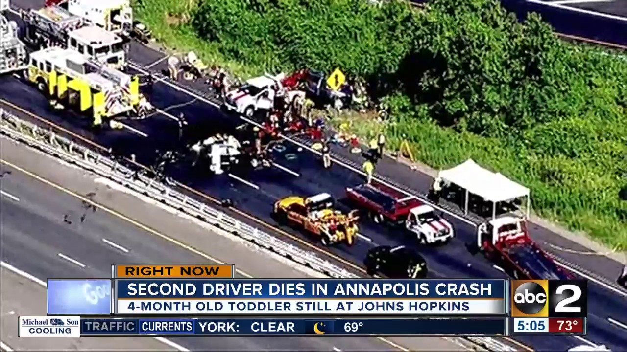 Second driver dies in Route 50 crash in Annapolis