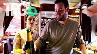 Opulence at 35,000 Feet in Emirates First Class for 90k Miles and $58 | TPGtv Episode 10