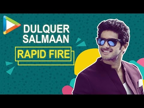 SRK or Aamir! Dulquer Salmaan's SUPERB rapid fire | Karwaan