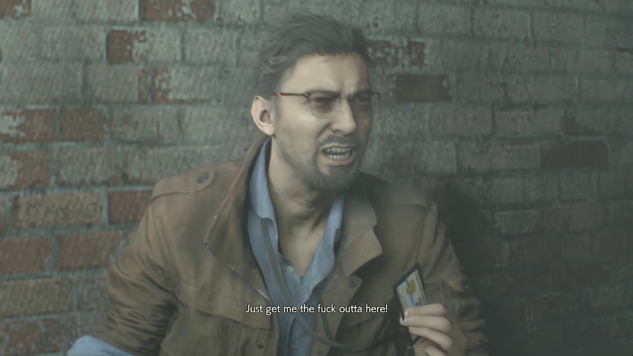 Resident Evil 2 Remake Ben Bertolucci Death