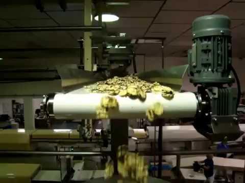 Linea para envasado de snacks de galletas