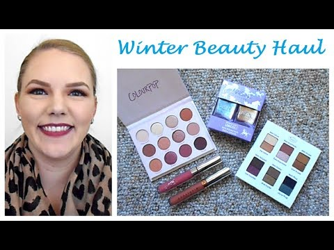 Winter Beauty Haul: Ulta, Colour Pop & More