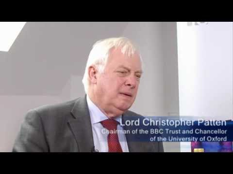 Lord Christopher Patten at IE School of International Relations