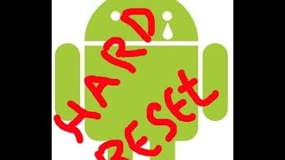 жесткая перезагрузка андроид, Hard reset