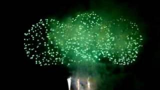 2006年8月4日 世界の花火ショー 韓国チーム