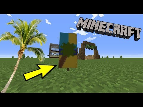 How To Make A Beach Banner In Minecraft!