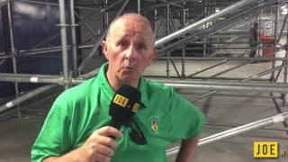Patrick Barnes, father of Paddy Barnes, reacts to Michael Conlan