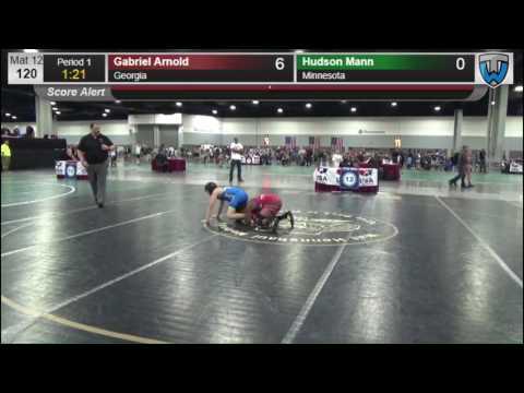 2323 Novice 120 Gabriel Arnold Georgia vs Hudson Mann Minnesota 8572980104
