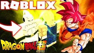 ROBLOX ! DRAGON BALL SUPER - GOKU SUPER SAIYAN GOD VS VEGETA E BUU SSJB ! Dragon Ball Rage Rebirth 2