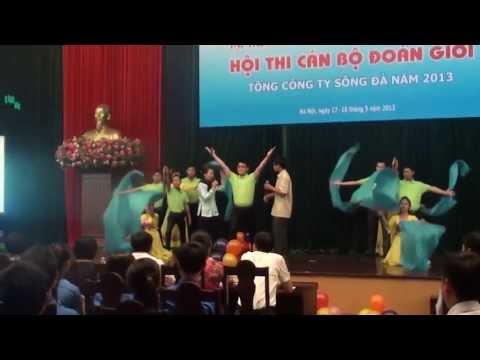 SUDICO chào hỏi thi cán bộ đoàn giỏi TCT Sông Đà