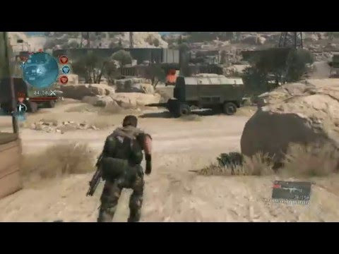 Metal Gear Online 3 PC Beta Comm Control || Cloak and Dagger