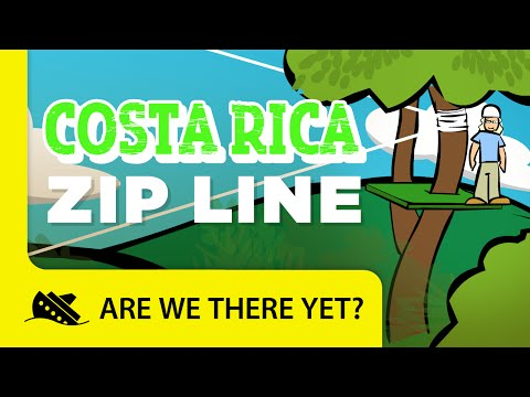 Costa Rica: Zip Line - Travel Kids in South America
