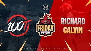 100T vs King Richard & AimBotCalvin | Friday Fortnite Week 10 | Grand Finals