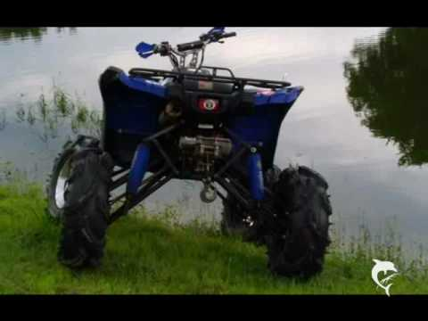 Custom Yamaha Grizzly