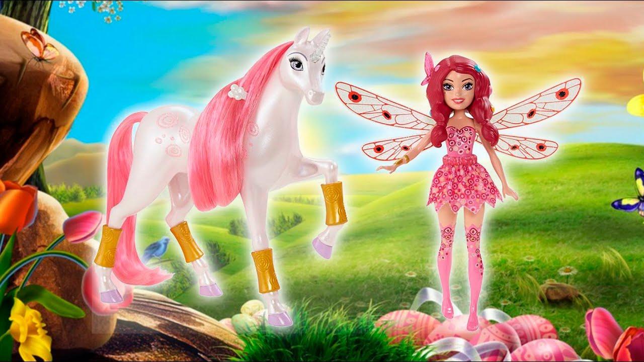 Mia Small Doll Lyria Unicorn Laleczka Mia Jednorozec Lyria