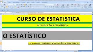 A profissão de Estatístico