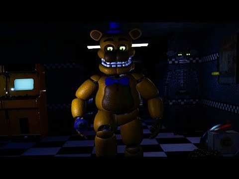 HIDING FROM FREDBEAR IN THE VENTS...HE FOUND ME RUN! | Five Nights at Freddys Project (New Update)
