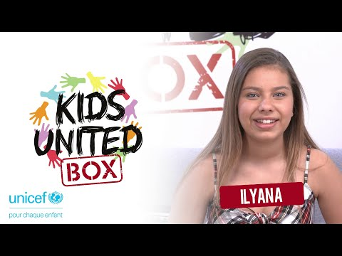 KIDS UNITED BOX #ILYANA