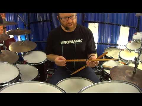 Promark Glenn Kotche Active Wave Signature Drumsticks mm663b