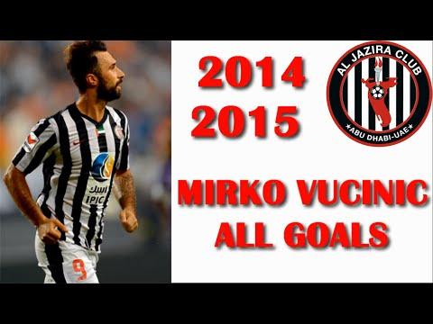 Mirko Vucinic GOALS 2014-2015 HD (Al Jazira)