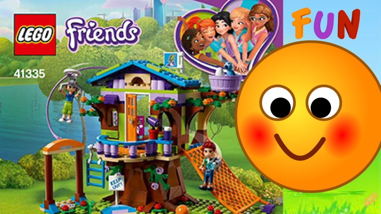 Lego Friends Mias Tree House Youtube