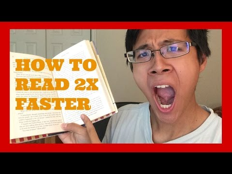 How To Speed Read: 2x Faster With NO LOSS In Comprehension