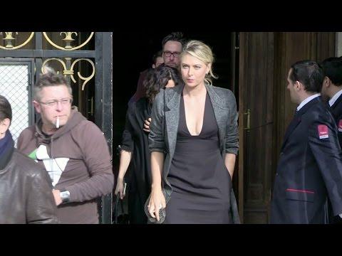 MIA, Maria Sharapova, Rhys Ifans and more attending the Stella McCartney Fashion Show in Paris
