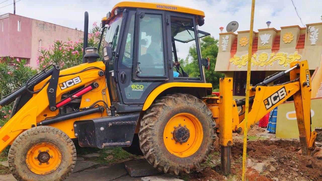 JCB Backhoe Machine Working on Mud | jcp | jcb | jcb video | jcb 3dx | jcb pulling | CFV |