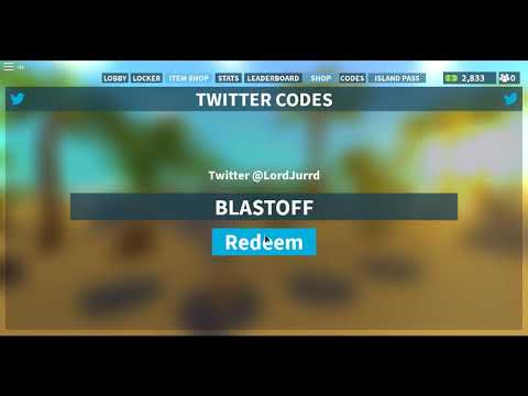Island Royale Codes Roblox September 2019 Youtube
