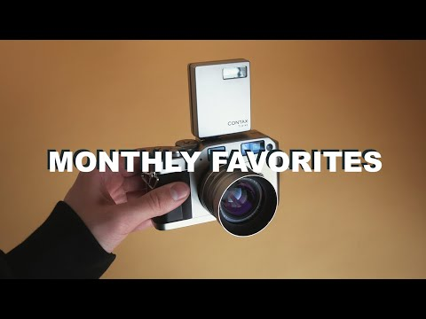 My New 35mm Film Camera - Monthly Favorites 2