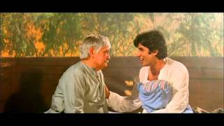 Hindi Film - Namak Halaal - Drama Scene - Amitabh Bachchan - Om Prakash - Jawan Daddu Buddha Arjun