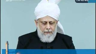 KHUTBA JUMA FROM NORWAY NEW MOSQUE 30-9-2011 PERSENTING KHALID QADIANI_clip1.flv