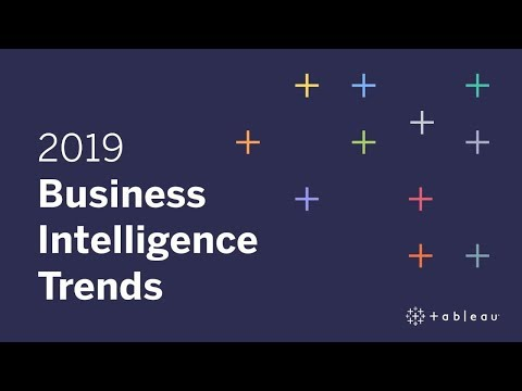 2019 Business Intelligence Trends