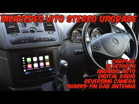 Alpine iLX-702d - Mercedes Vito Stereo Upgrade