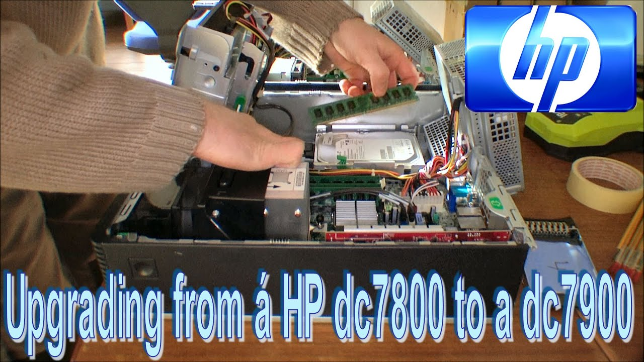 Replacing an HP dc7800 with a dc7900 Problems!! - 139
