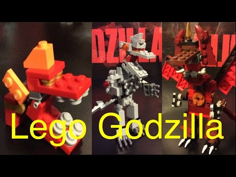 Lego Godzilla Series Two Preview