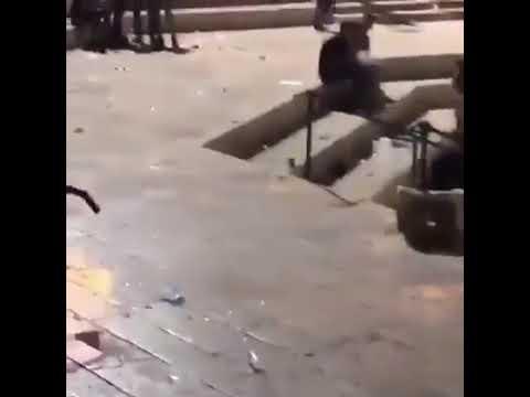 תיעוד מזעזע: הבחור החסידי הותקף בדרכו לכותל