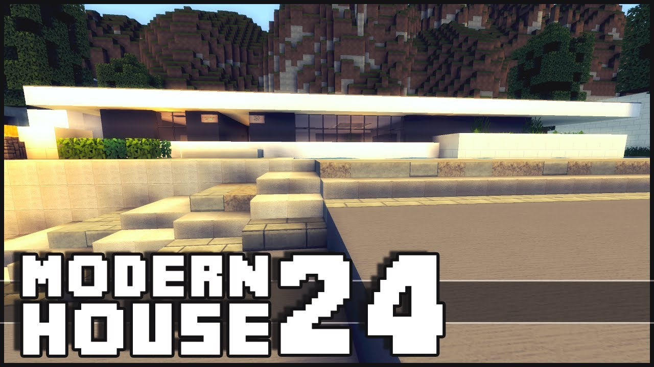 Minecraft Modern House 24 YouTube