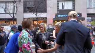 Chris Hemsworth & Elsa Pataky Hand In Hand Arriving The Oceana Ball NYC