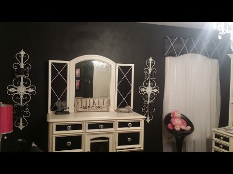 Make Your Own Cornice Board! (Window Treatment for Old Hollywood Glam Bedroom )