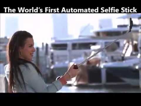brand new selfie stick with flash youtube. Black Bedroom Furniture Sets. Home Design Ideas