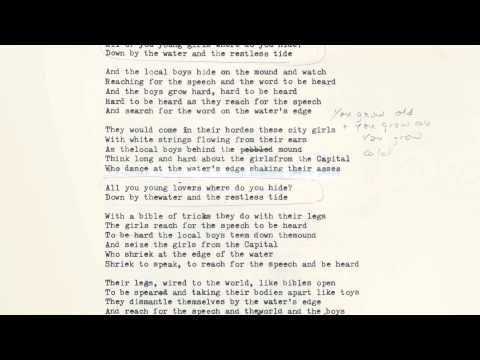 Nick Cave & The Bad Seeds - Water's Edge (Lyric Video)