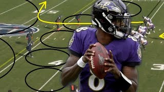 Film Study: NOT BAD FOR A RUNNING BACK: How Lamar Jackson and the Baltimore Ravens beat the Titans