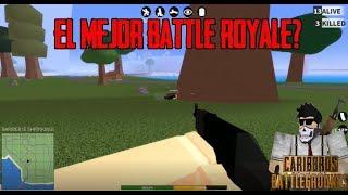 Roblox |caribbros battleground| el mejor battle royale de Roblox??