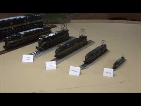"Modelling Railroad Train Track Plans -Tremendous Suggestions For Creating The Utmost From Your ""MODEL RR SCALE/GAUGE COMPARISON"" PRR GG1 Featured"