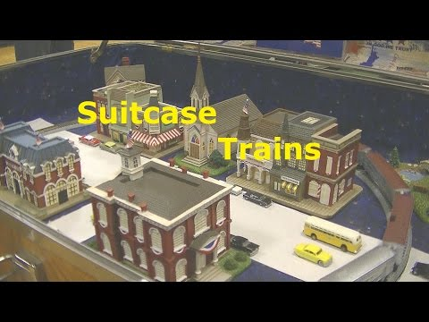 SUITCASE TRAIN LAYOUTS