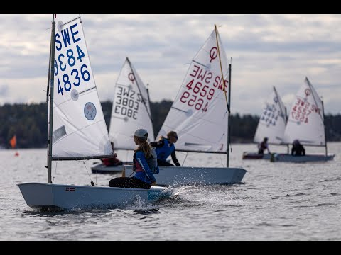 SM Optimist och Opti 11 regatta 2020