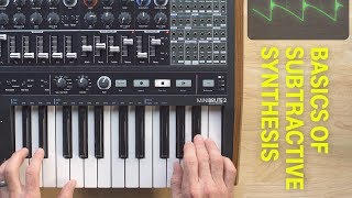 Basics of Subtractive Synthesis With the Arturia MiniBrute 2