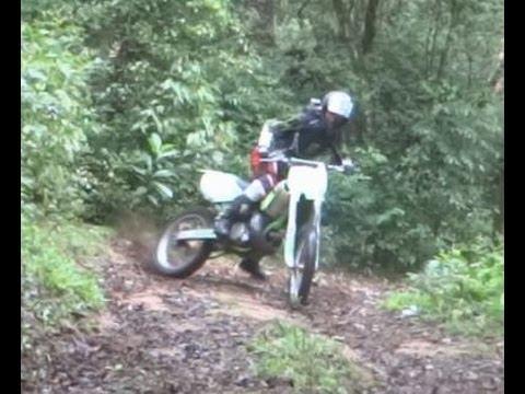 Trilha De Moto Kx 250 Crf 230 E Xt Youtube
